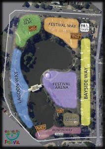 Einbunpin Festival Map